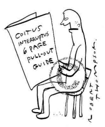 Coitus interruptus too late for worms for Coito interruptus