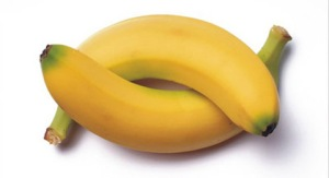 Japanese designer, this how true banana look like. This how 2 real banana look like, look, learn, bow.