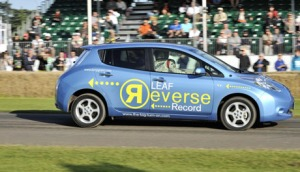 People are still setting records for reverse driving, but Awori is not among them