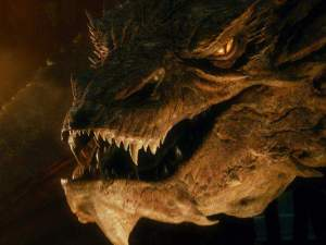 Smaug: [laughs] I kill where I wish and none dare resist! I laid low the warriors of old and their like is not in the world today - then I was but young and tender, now I am old and strong! My armor is shields, my teeth swords, my tail a thunderbolt!